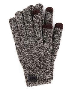 Britt's Knits Men's Gloves Brown