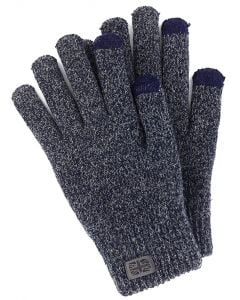 Britt's Knits Men Gloves Navy