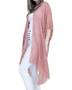 Very Moda Women's Sequin Kimono Rust