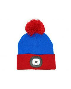 Night Scout Kids Rechargeable LED Beanie Blue