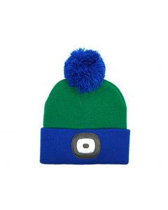 Night Scout Kids Rechargeable LED Beanie Green