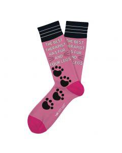 Two Left Feet Men's Everyday Socks Stay Pawsitive