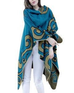 Very Moda Swirl Runan Wrap Turquois