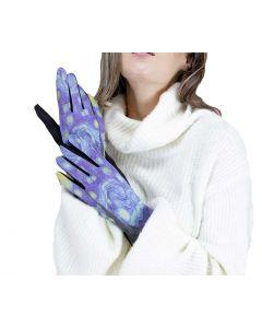 Very Moda Museum Print Gloves Starry Night