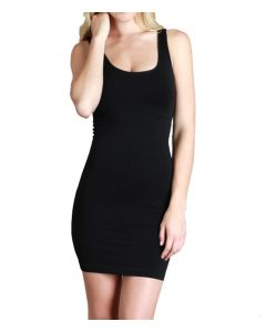Nikibiki Women's Jersey Tank Dress Black