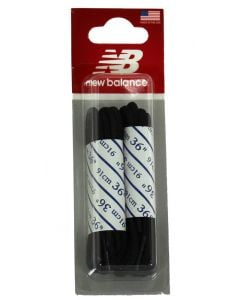 "New Balance 36"" Round Dress Laces Black"