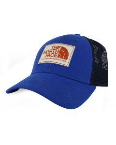 The North Face Mudder Trucker Hat Brit Blue Vintage White Weathered Orange OS