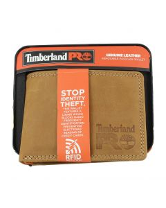 Timberland Removable Passcase Wallet Wheat