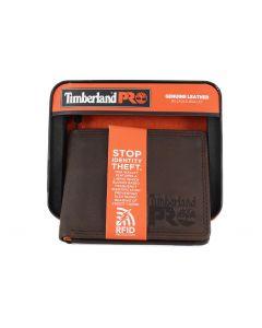 Timberland Billfold Wallet Dark Brown