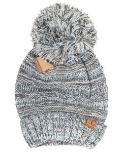 C.C. Exclusives Women's Knit Pom Slouchy Mint