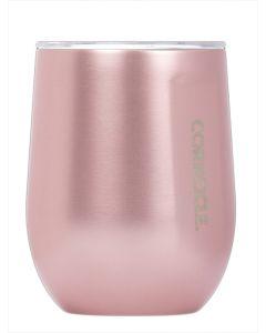 Corkcicle Stemless Rose Metallic