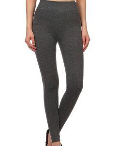 A & O International Women's Twill Leggings Grey