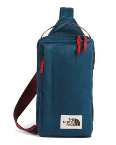 The North Face Field Bag Blue Wing Teal Barolo Red
