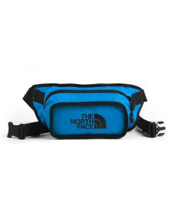 The North Face Explore Hip Pack Clear Lake Blue TNF Black