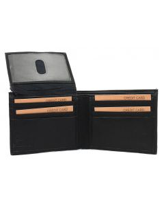 Leather Impressions Men's Bifold Wallet Black