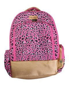 Simply Southern Leather Backpack Leopard
