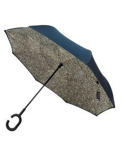 Parquet Inverted Umbrella Leopard