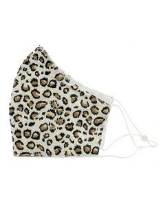 Queens Designs Face Mask Cheetah