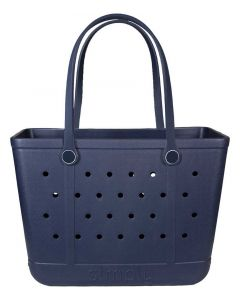 Simply Southern Eva Large Tote Navy