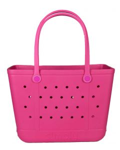 Simply Southern Eva Large Tote Pink
