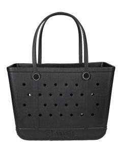 Simply Southern Eva Large Tote Black