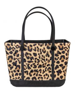 Simply Southern Eva Large Tote Leopard