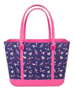 Simply Southern Eva Large Tote Dog