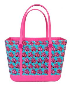 Simply Southern Eva Large Tote Turtle