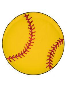 Simply Southern Softball Charm Yellow