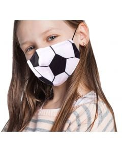 Wona Trading Kids Soccer Mask White