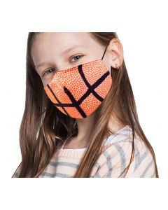 Wona Trading Kids Basketball Mask Orange