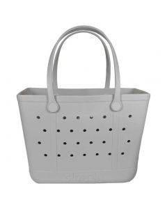 Simply Southern EVA Large Tote Ice Grey