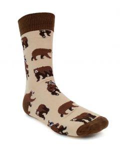 Parquet Men's Socks Bear