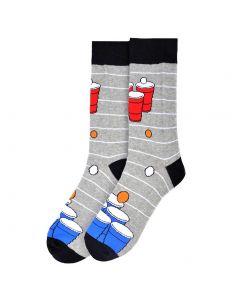 Parquet Men's Socks Beer Pong