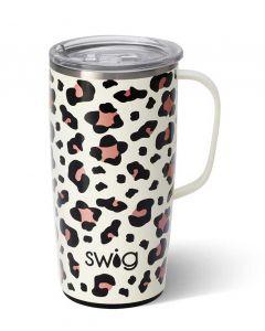 Swig Life 22oz Travel Mug Lux Leopard