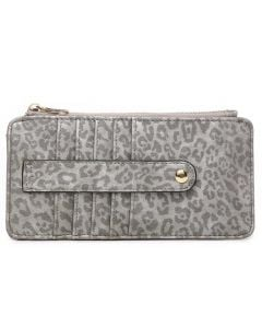 Jen & Co. Saige Wallet Cheetah Blue