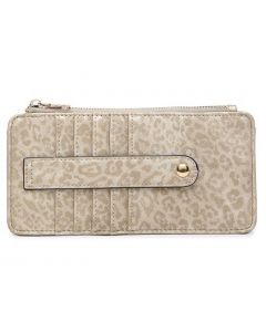 Jen & Co. Saige Wallet Cheetah Gold