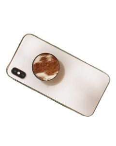 Myra Bag Paws Phone Socket Brown Cow