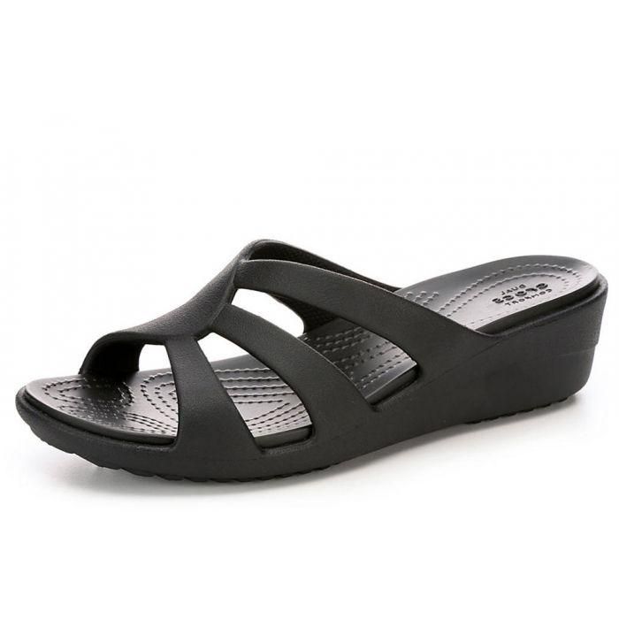Crocs Women's Sanrah Strappy Wedge